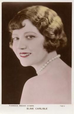 Elsie Carlisle Postcard