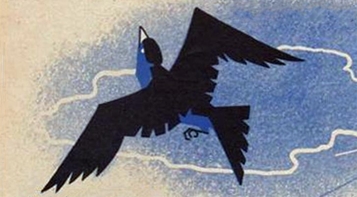 """When the Blackbird Says ""Bye-Bye"" featured image. Detail from original sheet music."